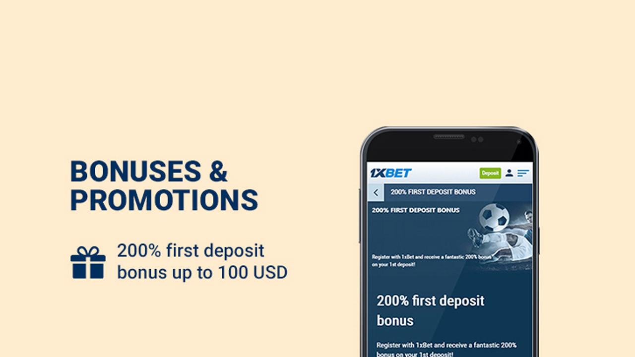 1xBet Kenya register bonus
