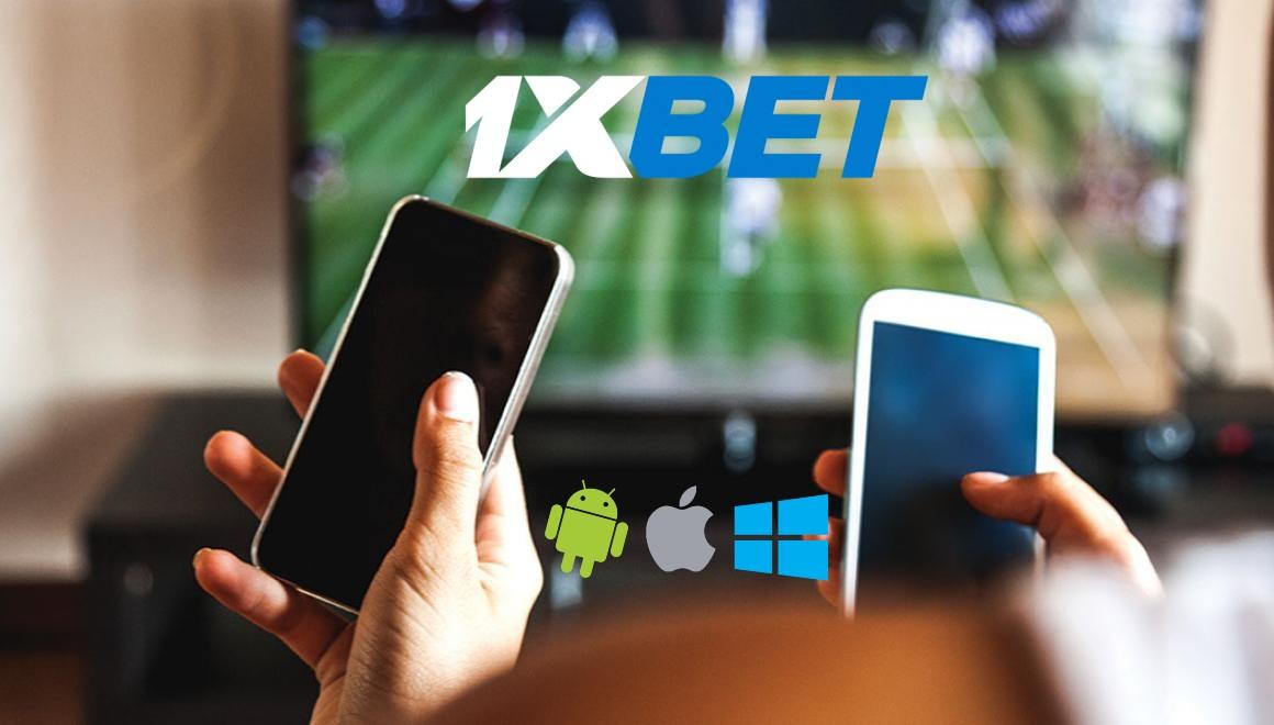 1xBet Kenya login through the mobile app